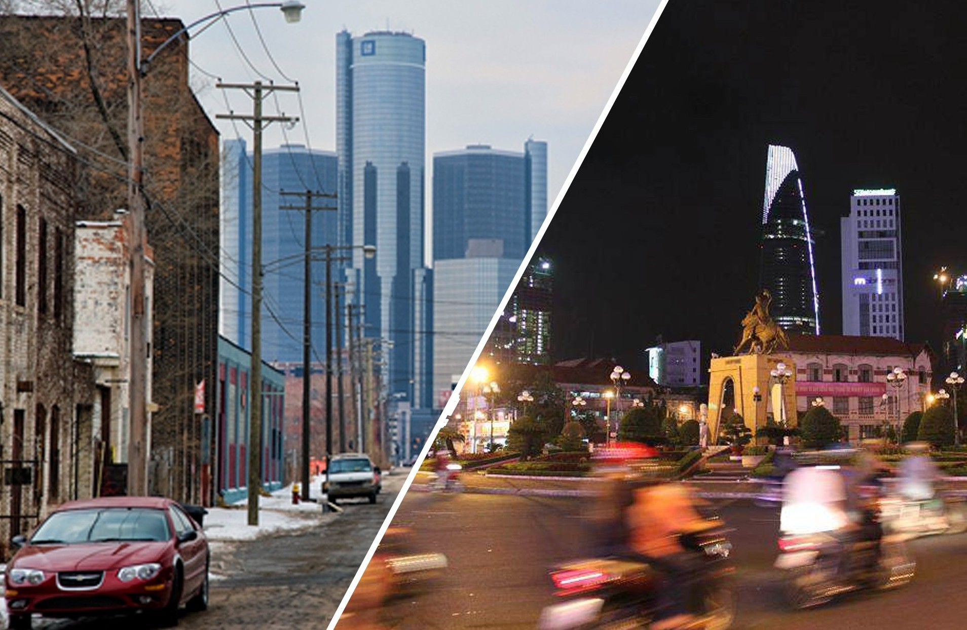 WHAT DO DETROIT AND SAIGON HAVE IN COMMON?